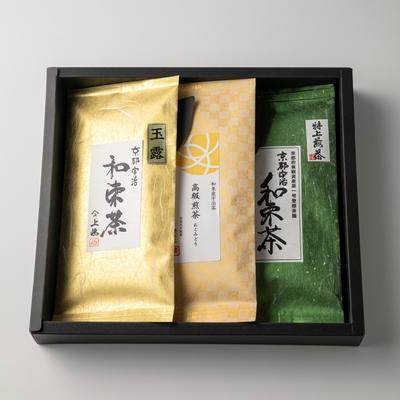 和束の集いセット(煎茶2種、玉露)