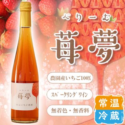 いちごワイン 苺夢 べりーむ 500ml