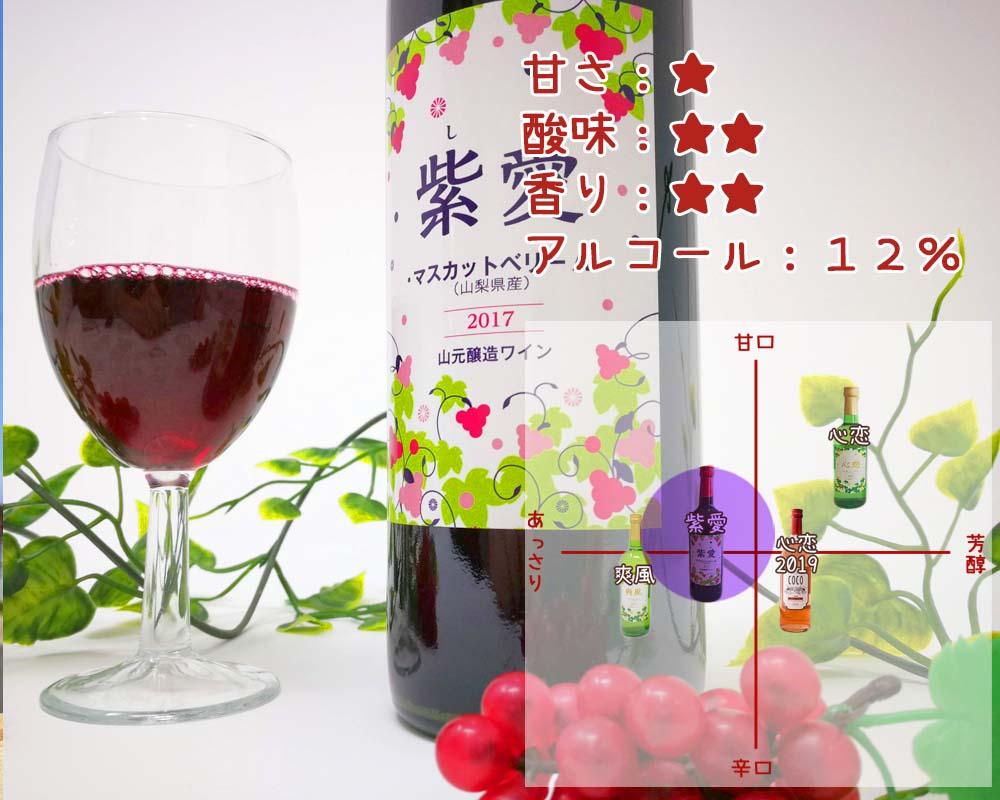 紫愛の味わい