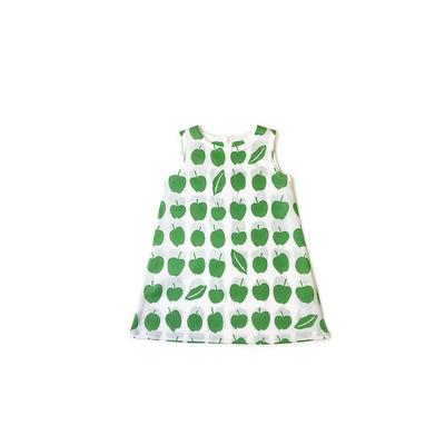 【受注後約2週間でお届け】#228 姫わんぴ 綿コーマ『青りんご』 110サイズ