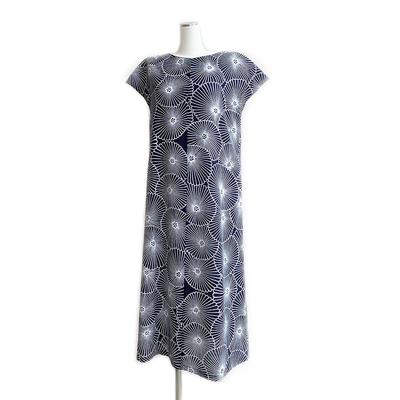 #350 フレンチA  綿絽『万寿菊』 Mサイズ