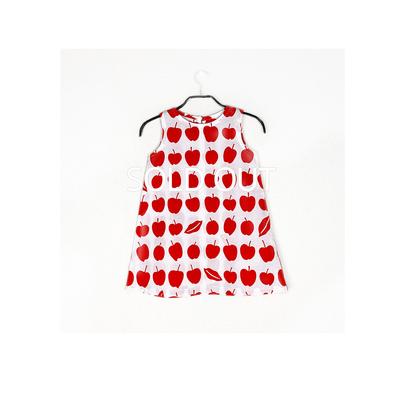 #037 姫わんぴ 綿コーマ『りんご』110サイズ