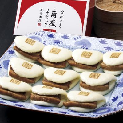 岩崎本舗 長崎角煮まんじゅう10個入