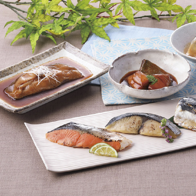 東京・なだ万 料亭の焼魚・煮魚 詰合せ