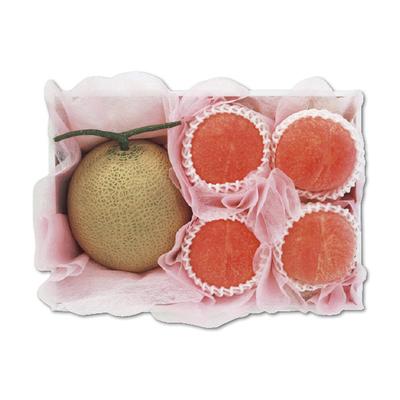 旬のメロン&旬の水蜜桃
