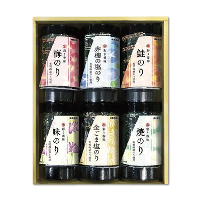 浦島海苔 彩り香味詰合せ