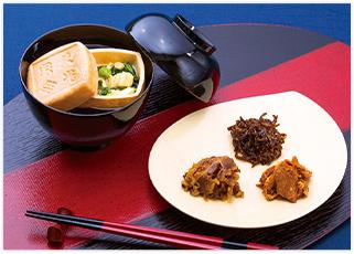 海苔・椎茸・かつお節・佃煮・漬物