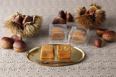 【資生堂パーラー】秋のチーズケーキ(マロン)3個入