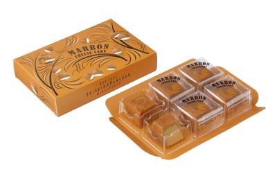 【資生堂パーラー】秋のチーズケーキ(マロン)6個入
