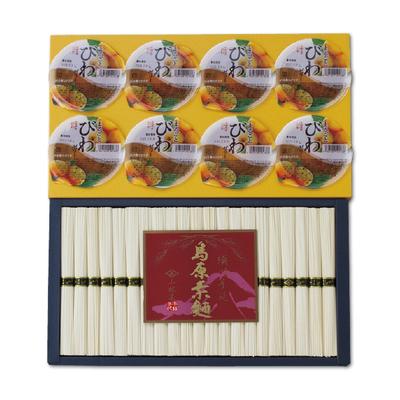 小林甚製麺 島原手延べ素麺・びわゼリー
