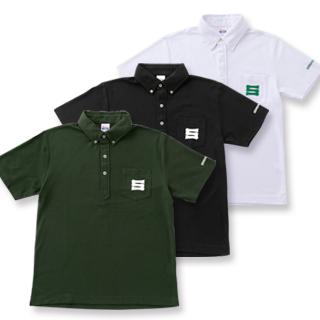 ボタンダウンポロシャツ(体育会Sマーク)