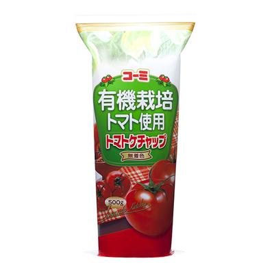 有機栽培トマト100%使用 トマトケチャップ 500g