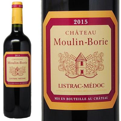 シャトー ムーラン ボリー [2015] リストラック=メドック AC  Chateau Moulin-Borie