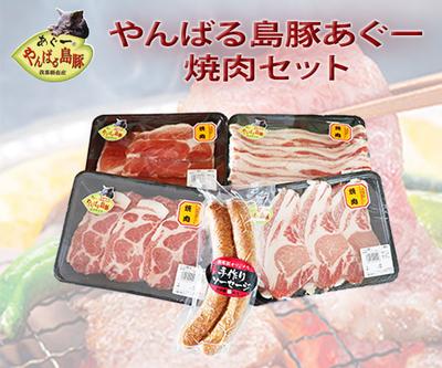 【支援事業特別vr.】やんばる島豚あぐー焼肉セット