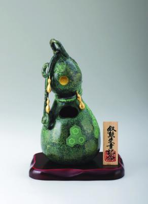 菊紋香炉 六瓢