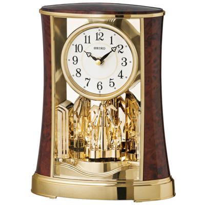 置時計(クオーツ時計)菊紋付き