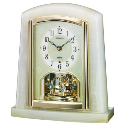 置時計(電波時計)菊紋付き