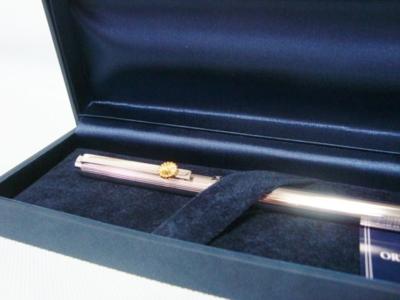 純銀菊紋ボールペン