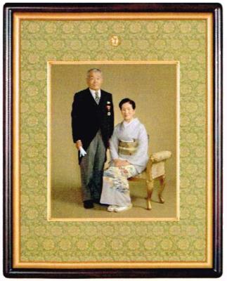 慶賀用写真額(四つ切りサイズ)