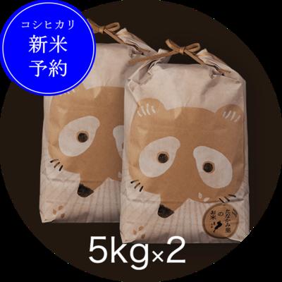 <新米予約>たなかみ米 精米 ご家庭用10kg
