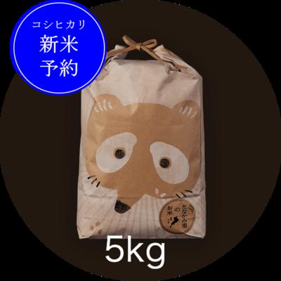 <新米予約>たなかみ米 精米 ご家庭用5kg