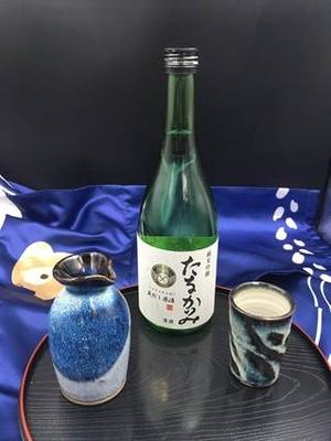 純米吟醸 蔵出し原酒(吟吹雪)720ml.2本セット