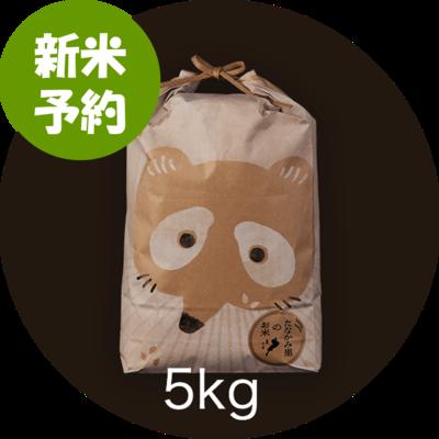 【新米予約】 たなかみ米 精米 ご家庭用 5kg