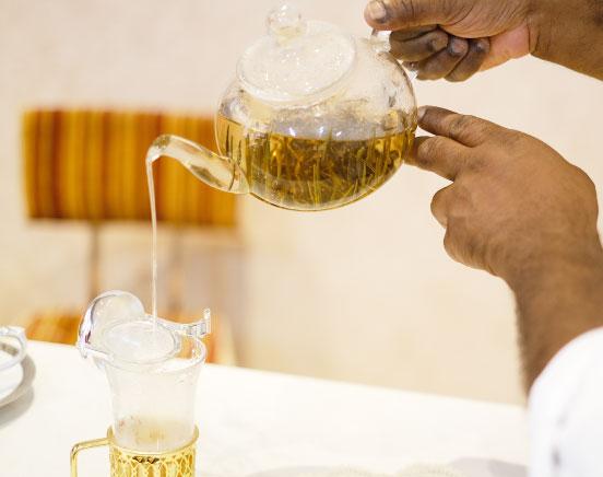 おいしい紅茶の淹れ方 step 4