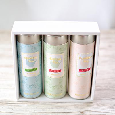 種類が選べるギフト缶 茶葉50g入 3缶セット