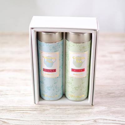 種類が選べるギフト缶 茶葉50g入 2缶セット