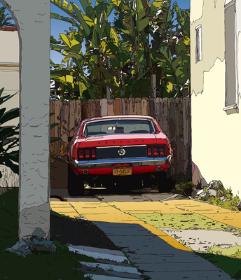 New Yorker in L.A. ロスのニューヨーカー