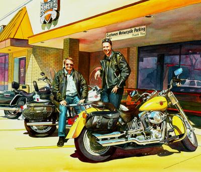 Sunday Riders on the road. Chicago, IL シカゴで出会ったライダーたち
