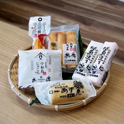 天ぷらかまぼこセット