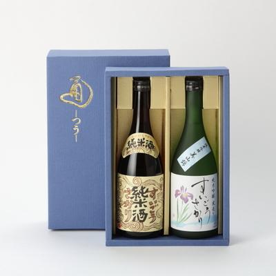 純米吟醸・純米酒 各720ml化粧箱入
