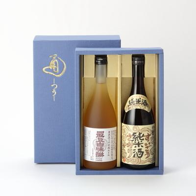 純米酒・みりん 各720ml化粧箱入