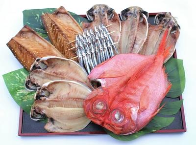 【 北海道・沖縄用 】金目鯛干物Bセット
