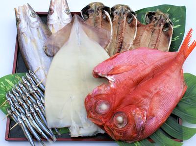 金目鯛干物Aセット