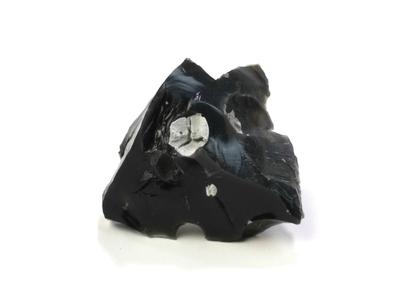 黒曜石と方珪石