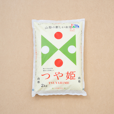 山形の米令和3年度産「つや姫」2kg精米