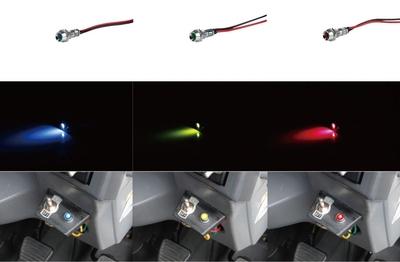 LEDミニパイロットランプ 24V車用