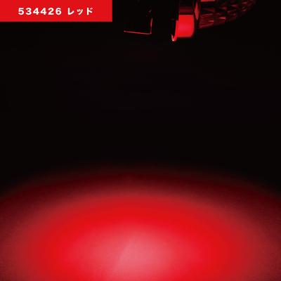 NEWハイパワーダウンライト 12/24V共用 レッド534426