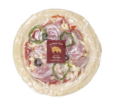 宍粟ハムのピザ(小)