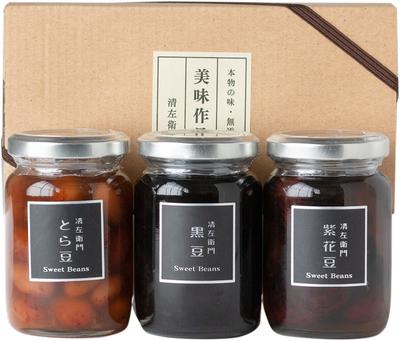 小びん(黒豆・紫花豆・とら豆)