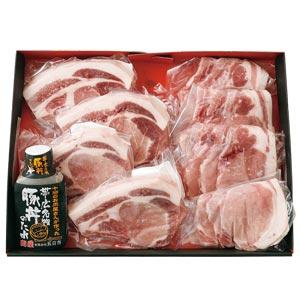 【五日市】藤丸オリジナル かみこみ豚 豚丼&厚切りロースセット