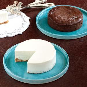 【十勝野スイーツ】チーズケーキセット