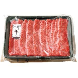【ノベルズ食品】十勝ハーブ牛 肩ロースすき焼き400g