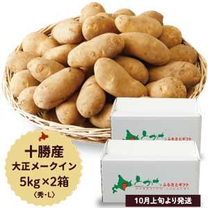 【十勝産】帯広市大正町橋本農場 大正メークイン10kg