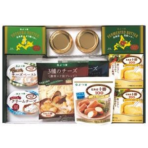 【よつ葉乳業】よつ葉の贈りものチーズ類とバターのセット SA-D