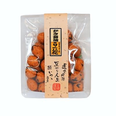 かき醤油豆
