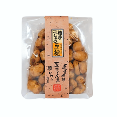 柚子こしょう豆